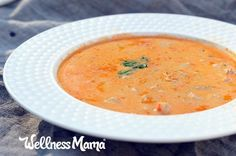 This incredible shrimp bisque has nourishing ingredients like broth, seafood, spices and healthy fats for a filling and delicious meal!