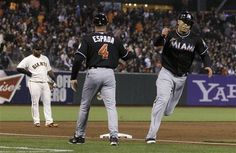 MLB: Miami Marlins 2 (9-14, 3-9 away) Giants 1 (12-11, 6-4 home) FINAL  Top Performer- G. Stanton, MIA: 1-4, HR, RBI, R  keepinitrealsports.tumblr.com  keepinitrealsports.wordpress.com