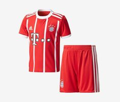 e054527ef Bayern Munich 2017-18 Mini Home Kit