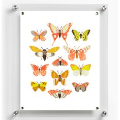 Fab.com | Wexel + Fab Custom Art Frame by Wexel Art -- Featuring a high-quality acrylic panel and eight strong magnets, this frame makes it possible for you to display new pieces easily and inexpensively. Simply place a print behind the acrylic, secure it with super-strong magnets, and voilà!