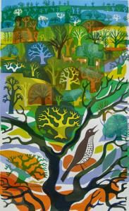 Carry Akroyd - Painter & Printmaker - Earlier Work Birds Eye View, Carrie, Printmaking, Carry On, Artists, Make It Yourself, Nature, Image, Painting