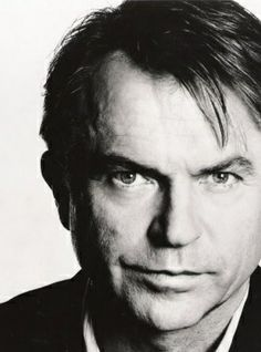 ACTORS IN BLACK AND WHITE. Sam Neill