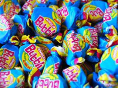 Anglo bubbly, chewing gum, bubble gum & other retro sweets at Panda Sweets, huge range of nostalgic sweets at great prices. 1980s Childhood, My Childhood Memories, Sweet Memories, 80s Sweets, Penny Sweets, Chocolate Sweets, Chocolate Bars, Vintage Sweets, Vintage Toys