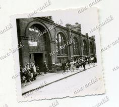 Foto Warschau Warszawa Polen, Haupbahnhof, Straßenszene, Wehrmacht (5881) | eBay