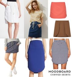 Moodboard –Curved Skirts