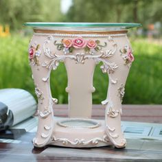 Fontaine series of European pastoral painted reliefs vaporizer containing candles incense smoke-in Cooking Tools from Home  Garden on Aliexpress.com $32.38 Vintage Candles, Soy Wax Candles, Cooking Tools, Incense, Home And Garden, Pottery, Smoke, Painting, Home Decor