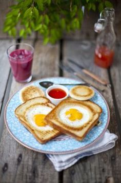 Yum! Fabulous slow-sunday-morning -breakfest~