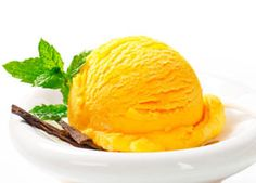 Peach Pineapple Sorbet — Here's a refreshing and nutritious summer treat! All it takes is three ingredients.