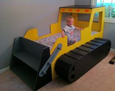 kids bedroom construction theme - Google Search