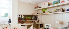 Los niños van creciendo y cada vez es más importante el rincón de estudio en su habitación, relajado, tranquilo. Cómo decorar un estudio para chicos.
