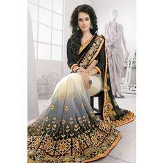 Magnificent Multicolor Saree