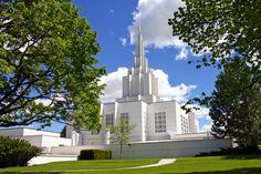 Idaho Falls Idaho LDS (Mormon) Temple  We love Temples at: www.MormonFavorites.com  #LDS #Mormon #LDSquotes