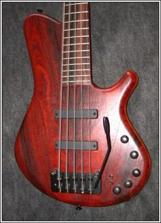 Stambaugh bass with Hipshot Bass Tremolo