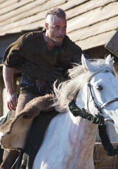Vikings (series 2013 - ) Starring: Travis Fimmel as Ragnar Lothbrok. (click thru for high res)