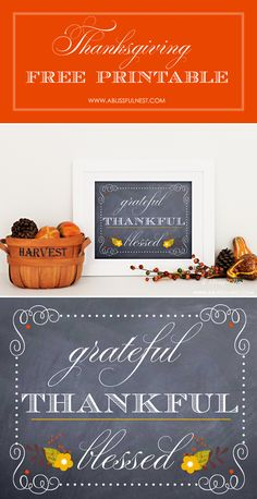 FREE Thanksgiving Printable - Download at { lilluna.com } #thanksgiving