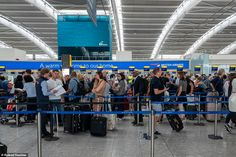 UK weather: Travel chaos with flights cancelled and trains delayed after storms London Airports, Network Rail, Uk Weather, London Underground, Peterborough, Thunderstorms, Mail Online, Daily Mail, Climate Change