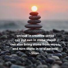 Creative sense.