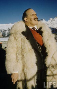 Man fur - St. Moritz