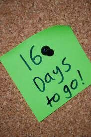 16 more days to go until the big announcement at I Am On Purpose, LLC.  Stayed tuned... only 10 slots available.    #iamonpurposellc #livenotexist #16daystogo www.iamonpurpose.org
