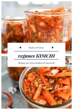Mein super einfaches Rezept für veganes Kimchi #kimchi #rezept #vegan