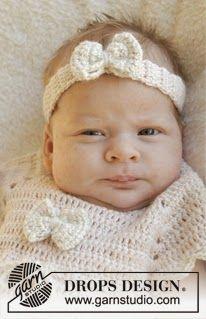 Haaktips: Baby haarband met strikje