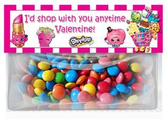 partyexpressinvitations - Shopkins Valentines Day Goodie Bag Toppers , $3.99 (http://www.partyexpressinvitations.com/shopkins-valentines-day-goodie-bag-toppers/)