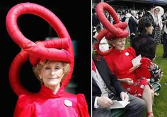 [womens-hats-01.jpg]  She appears oblivious to the fact that she looks like a jackass.