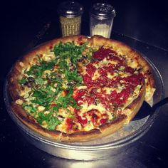 ... images about Deep Dish Pizzas on Pinterest | Deep dish, Pizza and Ps