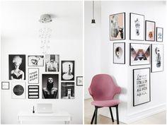Er ret vild med at man har valgt at køre billedevæggen videre om på den anden side af væggen på billede nr. 2 (Y)