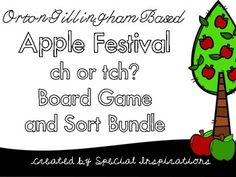 When does a word end in tch? How do I know? Meet Mitch and his friend Patch! They will help students understanding this spelling rule through this fun and engaging apple festival themed board game and sort! Great for literacy centers, tutorial sessions, or even for homework!There is a black and white version of the board game so students can have their own board game to color and take home for practice!Your feedback is greatly appreciated!