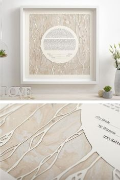 Wedding Vows,Custom Ketubah, Modern Ketubah, Reform Ketubah, Interfaith Ketubah, Minimalist Ketubah, Wedding Vow, Unique Ketubah, Ketubah Papercut This Ketubah is a gorgeous composition, it is made of high quality paper and the result is a fine art piece. It is a Papercut Ketubah with a digital giclée print, having a modern design. This ketubah is unique and it will impress all the guests. Wedding Vows, Red Wedding, Spring Wedding, Botanical Wedding Theme, Wedding Trends, Wedding Ideas, Wedding Crafts, Marsala, Wedding Locations