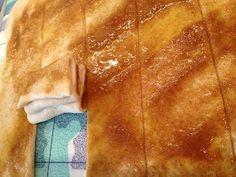 olles *Himmelsglitzerdings*: Faltenbrot mit Zimt-Zucker-Butter Füllung