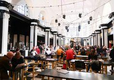 Holy Food Market Gent #visitgent food veggie must do visit church ghent belgium europe