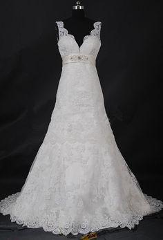 New style sleeveless dress white lace wedding by shortpromdress, $199.00