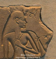 "Talatate Amarna. | The ""Nefertiti Munich."""