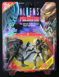 Aliens vs Predator The Ultimate Battle Between Beast Hunter 2 Pack Kenner | eBay