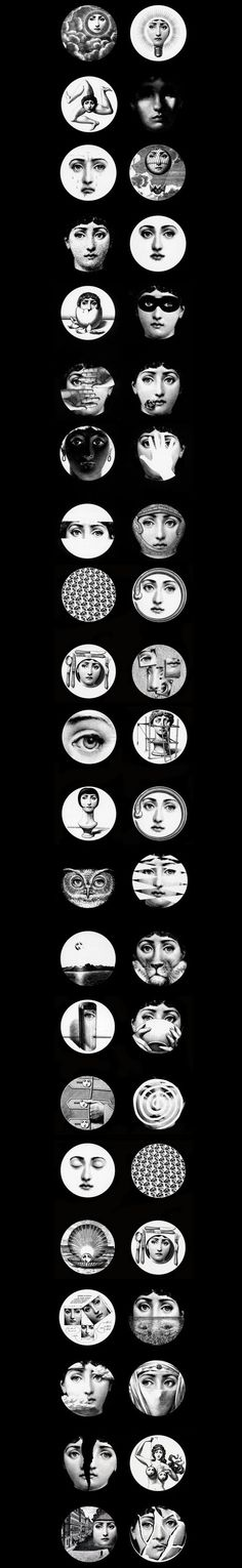 Piero-Fornasetti pinned with Bazaart