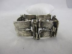 massives Design Armband Silber 835 punziert Burkhard & Monika Oly