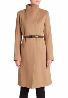 Cinzia Rocca | Belted Cashmere Coat | SAKS OFF 5TH