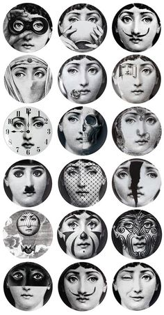 Papier peint Theme and Variation Fornasetti .- Papier peint Tema e Variazione Fornasetti … Papier peint Theme and Variation Fornasetti More - Fornasetti Wallpaper, Piero Fornasetti, Cole And Son, Italian Painters, Foto Art, Arte Pop, Art Design, Studio Design, Collage Sheet