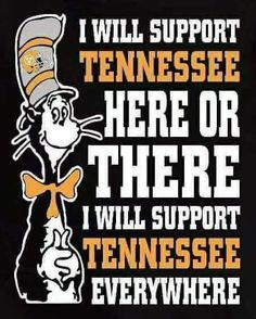 Tn Vols Football, Tennessee Volunteers Football, Tennessee Football, State Of Tennessee, College Football Teams, Tennessee Game, Football Season, Sports Slogans, Vol Nation