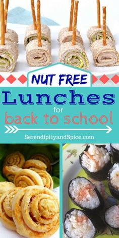 These nut free school lunch ideas will help you figure out what to feed your kids for back to school. With food allergies so prevalent it's important to find nut free lunch ideas to send to school this year.