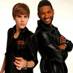 Biebs & Usher. Two of my favorite boys.