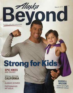Seahawks QB Russell Wilson is Strong for Kids #GoHawks #SeahawksSB50