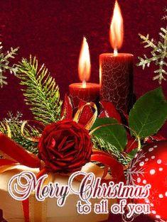 christmas greetings Merry Christmas C - weihnachten Merry Christmas Animation, Merry Christmas Pictures, Merry Christmas Wallpaper, Christmas Scenery, Merry Christmas Images, Merry Christmas Greetings, Christmas Blessings, Noel Christmas, Christmas Candles