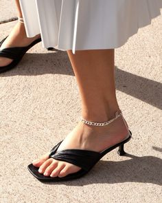 Add something extra to your look with anklet styles.