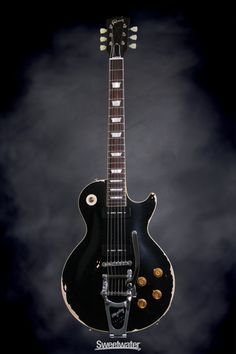 "Gibson Custom '56 Les Paul Standard ""Made To Measure"" - Ebony, Heavy Aged 