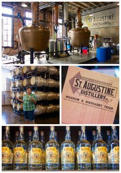 St. Augustine Distillery - St. Augustine, FL - Florida's first legal distillery!