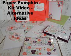 Check out my video and see all the cards I made with the February Paper Pumpkin kit - I have several different ideas and layouts:   http://astampabove.typepad.com/my-blog/2016/03/alternate-ideas-paper-pumpkin-kit.html  Thanks for looking!