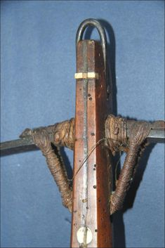 Ethnographic Arms & Armour - small European crossbow